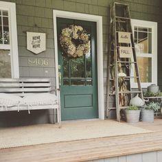 75 Most Antique And Beautiful Farmhouse Front Porch Decoration Ideas 0554 – DECOOR