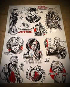 d36a5fc960e9e0393091e68abe815f42--blade-runner-tattoo-tattoo-flash.jpg (736×918)