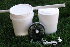 Cómo hacer un aire acondicionado portátil casero