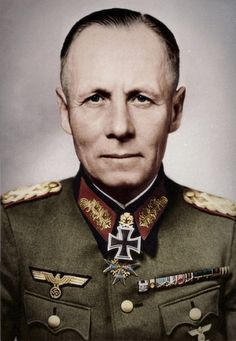 rationalistatheist: Erwin Rommel believed in respect not just for his own troops, but for his adversaries. He ignored any orders (Even if they were from Hitler) to execute POW's, Jews or civilians. He fought for the Iron Cross, not the Swastika. German Soldiers Ww2, German Army, Walter Model, Erwin Rommel, Afrika Korps, The Third Reich, Panzer, Military History, World War Two