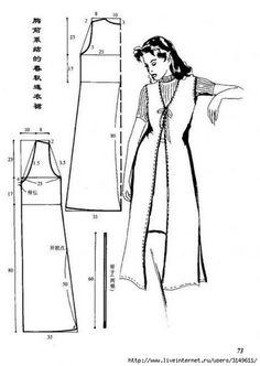 Выкройки ретро платьев и сарафанов