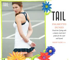 Tail Palmetto Dunes Women's apparel collection: http://www.midwestsports.com/tail-tennis-apparel-clothing/c/614/