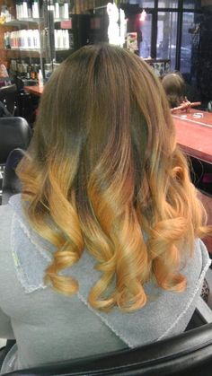 Ombre done by me