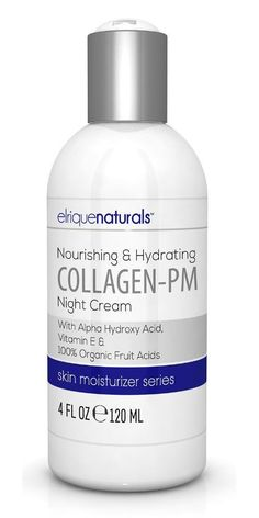 Our Collagen Night Cream Helps Fill In Fine Lines And Wrinkles, Leaving Your Skin Smooth And Plump With A Radiant Youthful Appearance. PREMIUM RATED, HIGHEST QUALITY - Collagen Night Cream By Elrique