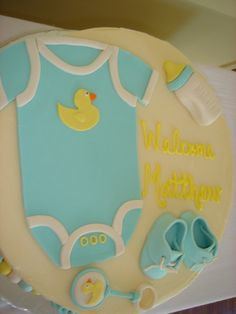 Baby Shower For Baby Boy