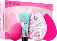 beautyblender® + Benefit Holiday Kit