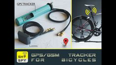 SHYSPY is a bicycle GPS Tracker that enables you to keep a record of your cycling activity and also find your bicycle in case of theft.