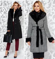 Paltoane De Iarna - Modele Cambrate Largi - Ce se poarta in iarna 2020 Coat, Jackets, Fashion, Moda, Fashion Styles, Peacoats, Coats, Fashion Illustrations, Jacket