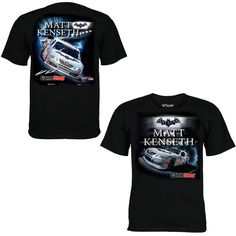 Chase Authentics Matt Kenseth 2013 Nationwide Batman T-Shirt - Black - $12.99