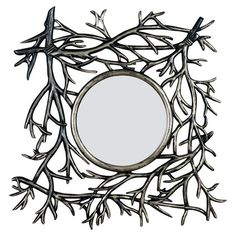 Silver Forest Wall Mirror.