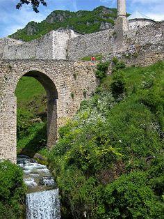 Travnik fortress, Travnik, Bosnia and Herzegovina.