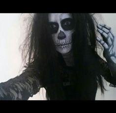 Till death do us part  #skull #makeup #horror #halloween