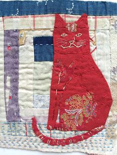 """Mandy Paattullo: I am always trying to achieve a naievity  that you find in old American appliquéd quilts"""" April 8, 2016"""