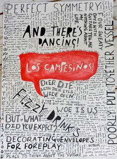 Los Campesinos and their lyrics