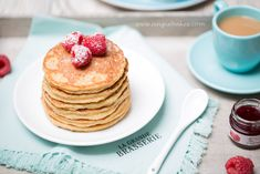 Zdravé lievance by Jamie Oliver Jamie Oliver, Pancakes, Food And Drink, Lunch, Cooking, Healthy, Breakfast, Recipes, Wordpress