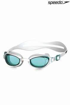 63dae3a30b8 Buy Speedo® White Blue Aquapure Swim Goggles from the Next UK online shop