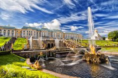 #Russia - The Peterhof Palace