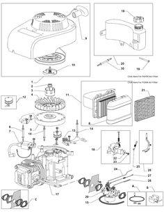Mountfield 461R PD Spares Parts Diagrams 461RPD 2008