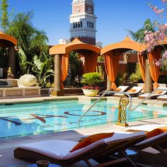 You might spot Jay-Z, Nicole Scherzinger, or Heidi Klum hanging at Tao Beach, the 18,000-square-foot pool and day club at the Venetian. Order mojitos at the 30-foot bar, or splurge on one of the cabanas and order in sushi, Peking-duck spring rolls, and lobster wontons from the trendy restaurant downstairs.