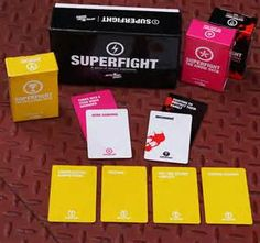 Find Superfight and all of our expansions at Booth 2800!!!