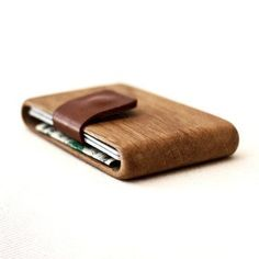Industrial Design / An exquisite handmade wallet out of premium wood.
