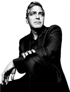 George Clooney (1961) - American actor, film director, producer, and screenwriter. Photo © Platon Antoniou