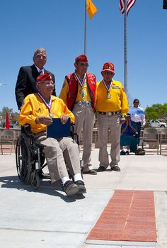Navajo Code Talkers were honored on Memorial Day 2011 at Veterans Park in Las Cruces.