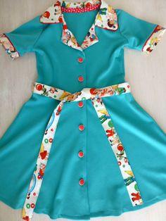 vintage kleedje
