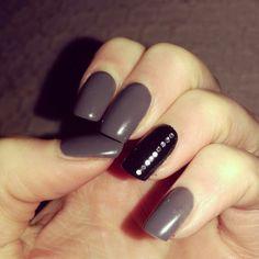 January nails! Love them!