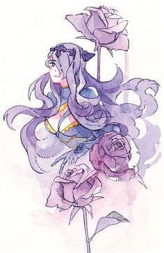 Fire Emblem: If/Fates - Camilla Watercolor Art