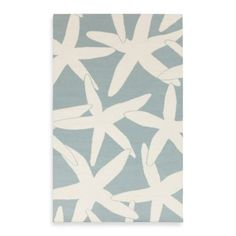 Boardwalk Starfish Flat Pile Rug - White Starfish on Powder Blue: Coastal Home Decor, Nautical Decor, Tropical Island Decor & Beach Furnishings Coastal Cottage, Coastal Decor, Coastal Living, Coastal Style, Nautical Rugs, Clearance Rugs, Thing 1, Wool Runners, Scale Design