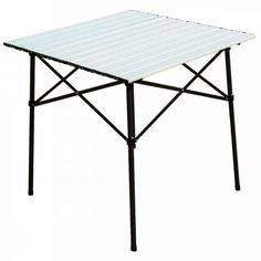 Timber Ridge Folding Camping Table Roll-Up Aluminum Indoor Outdoor Picnic Dining Desk, x Inches – Alvino – Your friendly gift store Camping Furniture, Table Furniture, Folding Camping Table, Folding Tables, Indoor Outdoor, Outdoor Living, Outdoor Gear, Divider Design, Portable Table