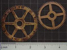 Steampunk Supplies Vintage brass clock by SteampunkArtSupplies, $8.95   #steampunk #artsupplies