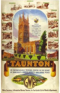 1930's GWR Taunton Railway ,17