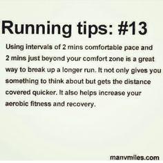 Running tips; #13