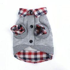 Cat Dog grade Sweater filhote de cachorro casaco quente t-shirt roupas Pet POLO camisa do cão vestuário(China (Mainland))