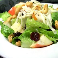 """Winter Fruit Salad with Lemon Poppyseed Dressing I """"I made this for Thanksgiving dinner and it was a big hit!! Everyone loved it."""""""