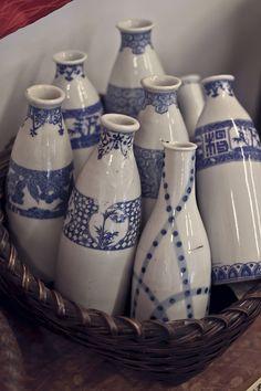 The Sea of Fertility.: Porcelain and Hokusai.