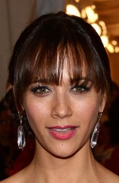 The Best Bangs for Your Face Shape: Long, Piece-y Bangs are Great for Heart-Shaped Faces