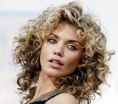 When my curly hair grows out, it totally looks like this...a lions mane...everyone loves it but me.