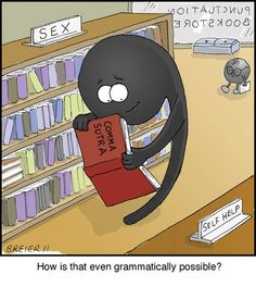 """""""Comma"""" sutra.... (Mena    =)"""