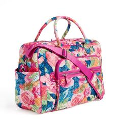 Image of Iconic Weekender Travel Bag in Superbloom