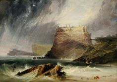 Dunbar Castle, J.M.W. Turner