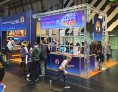 Stand and Shockwave Challenge activity space for Bloodhound at Big Bang! - the young scientists and engineers show.  Big hit with 1000s of children having a go.