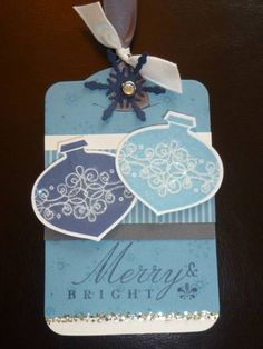 My tag swap by ckstamps - Cards and Paper Crafts at Splitcoaststampers