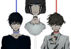 Zankyou no Terror fan art: Colors/ Nine, Five and Twelve