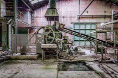 Pirates Charm, België, industrie, fabriek, urbex