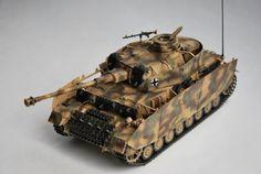 1/35 Dragon Panzer IV Ausf. H by Tudor Gheorghiu
