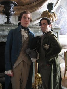 Jason Schwartzman and Bo Barrett in Marie Antoinette Marie Antoinette {2006} #MarieAntoinette