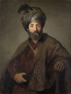 Man in Oriental Costume - Rembrandt